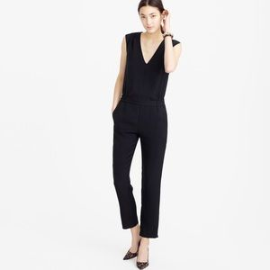 JCrew Black Jumpsuit- sleeveless with pockets - M